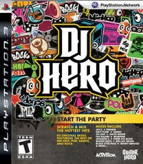 DJ Hero Playstation 3 Game Off the Charts