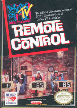 MTV Remote Control - Off the Charts Video Games