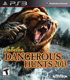 Cabela's Dangerous Hunts 2013 Playstation 3 Game Off the Charts