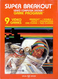 Super Breakout Atari 2600 Game Off the Charts