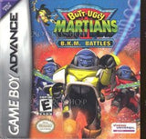Butt-Ugly Martians B.K.M Battles Game Boy Advance Game Off the Charts