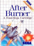 After Burner Sega Master System Game Off the Charts