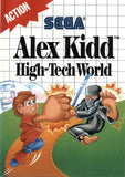 Alex Kidd in High-Tech World Sega Master System Game Off the Charts