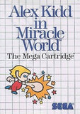 Alex Kidd in Miracle World Sega Master System Game Off the Charts