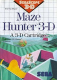 Maze Hunter 3-D Sega Master System Game Off the Charts