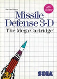 Missile Defense 3D Sega Master System Game Off the Charts