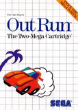 Out Run Sega Master System Game Off the Charts