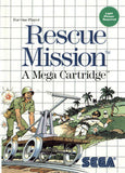 Rescue Mission Sega Master System Game Off the Charts