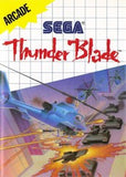 Thunder Blade Sega Master System Game Off the Charts