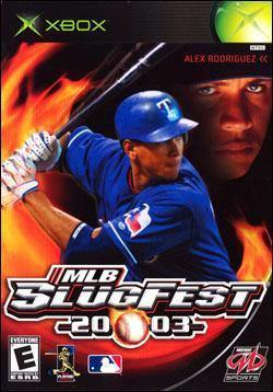 MLB Slugfest 2003 Xbox Game Off the Charts