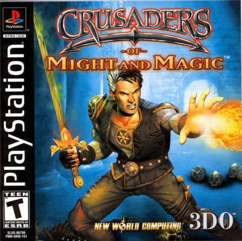 Crusaders of Might & Magic Playstation Game Off the Charts