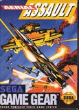 Aerial Assault Game Gear Game Off the Charts