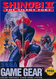 Shinobi II: The Silent Fury Game Gear Game Off the Charts