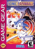 Sonic Spinball Game Gear Game Off the Charts