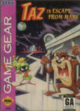 Taz in Escape From Mars Game Gear Game Off the Charts