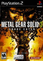 Metal Gear Solid 3 Snake Eater Playstation 2 Game Off the Charts