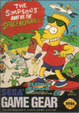 Bart vs. The Space Mutants Game Gear Game Off the Charts