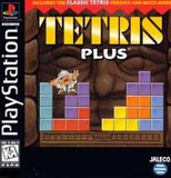 Tetris Plus Playstation Game Off the Charts