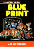 Blue Print Atari 5200 Game Off the Charts