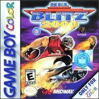 NFL Blitz 2000 Game Boy Color Game Off the Charts
