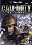 Call of Duty: Finest Hour Nintendo Gamecube Game Off the Charts