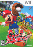 Mario Super Sluggers Wii Game Off the Charts