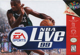 NBA Live '99 Nintendo 64 Game Off the Charts