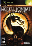 Mortal Kombat Deception Xbox Game Off the Charts