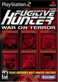 Fugitive Hunter War on Terror Playstation 2 Game Off the Charts