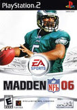 Madden 06 Playstation 2 Game Off the Charts