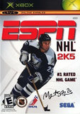 ESPN NHL 2K5 Xbox Game Off the Charts