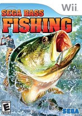 Sega Bass Fishing Wii Game Off the Charts