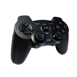Old Skool Double-Shock 3 Wireless PS3 Controller in Black Playstation 3 Accessory Off the Charts