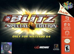NFL Blitz Special Edition Nintendo 64 Game Off the Charts