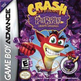 Crash Bandicoot Purple Ripto's Rampage Game Boy Advance Game Off the Charts