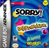 Aggravation Scrabble Junior and Sorry Game Boy Advance Game Off the Charts