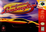 Automobili Lamborghini Nintendo 64 Game Off the Charts