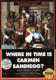 Where in Time is Carmen Sandiego Sega Genesis Game Off the Charts
