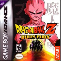 Dragon Ball z Buu's Fury Game Boy Advance Game Off the Charts