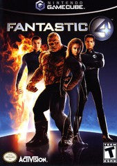 Fantastic 4 Nintendo Gamecube Game Off the Charts