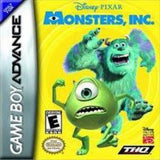 Monsters Inc. Game Boy Advance Game Off the Charts