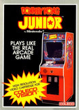 Donkey Kong Junior Colecovision Game Off the Charts