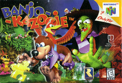 Banjo Kazooie - Cartridge Only Nintendo 64 Game Off the Charts