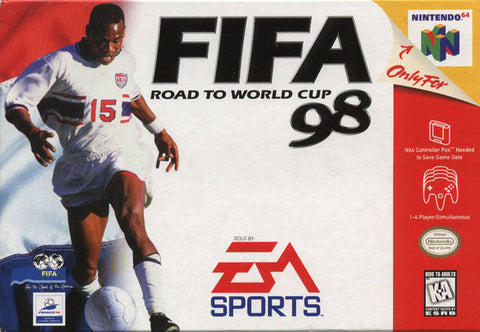 Fifa '98 Road to the World Cup Nintendo 64 Game Off the Charts