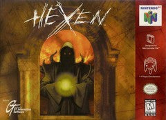 Hexen Nintendo 64 Game Off the Charts
