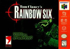 Tom Clancy's Rainbow Six Nintendo 64 Game Off the Charts