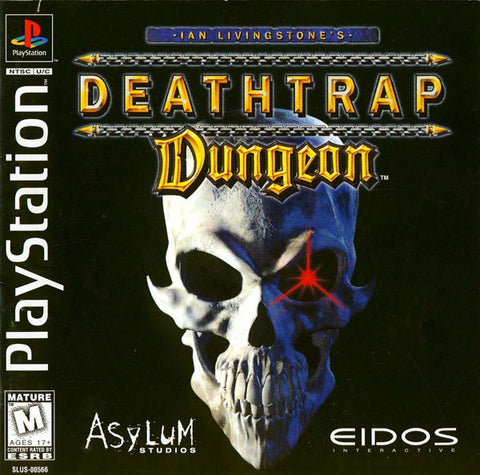 Deathtrap Dungeon Playstation Game Off the Charts