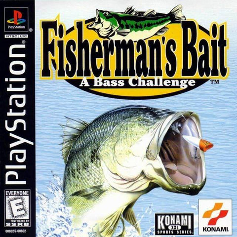 Fisherman's Bait: A Bass Challenge Playstation Game Off the Charts