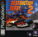 Destruction Derby 2 Playstation Game Off the Charts