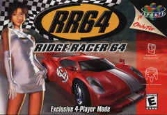 Ridge Racer 64 Nintendo 64 Game Off the Charts